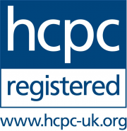 Registered with the Health & Care Professions Council